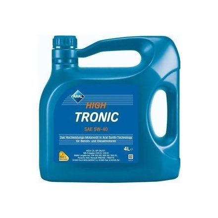 Aral HighTronic 5W40 4 liter