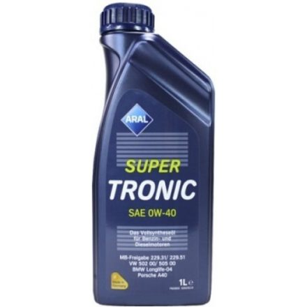 Aral SuperTronic 0W40 1 liter