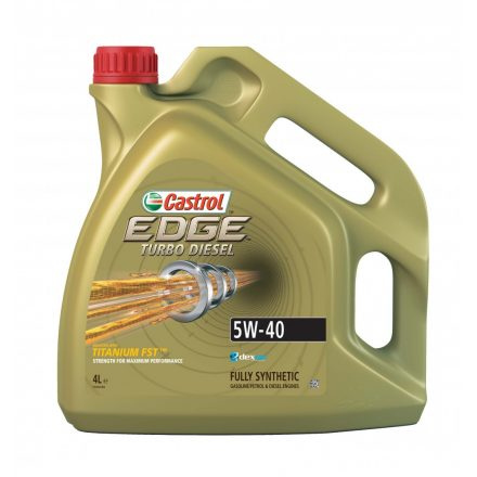 Castrol Edge Turbo Diesel 5W40 4 liter