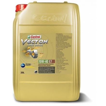 Castrol Vecton Long Drain (Enduron) 10W40 20 liter