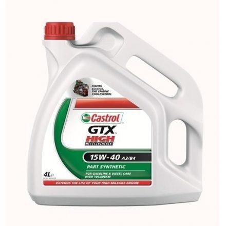 Castrol GTX High Mileage 15W40 4 liter