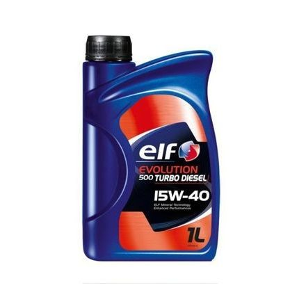 Elf Evolution 500 Turbo Diesel 15W40 1 liter