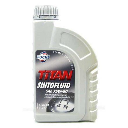 Fuchs Titan Sintofluid 75W80 1 liter