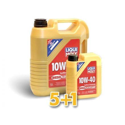 Liqui Moly Diesel Leichtlauf 10W40 LM1387 + 1386 5+1 liter