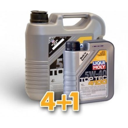 Liqui Moly Top Tec 4100 5W40 LM2195+9510 4+1 liter