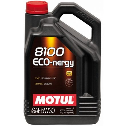 Motul 8100 Eco-nergy 5W30 5 liter