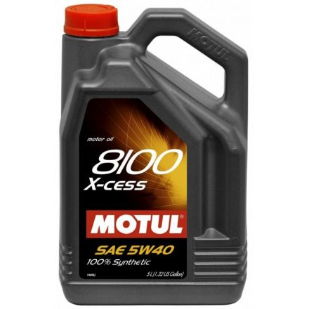 Motul 8100 X-cess 5W40 4 liter
