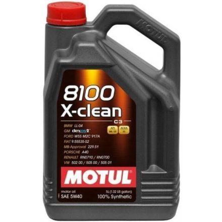 Motul 8100 X-clean 5W40 5 liter