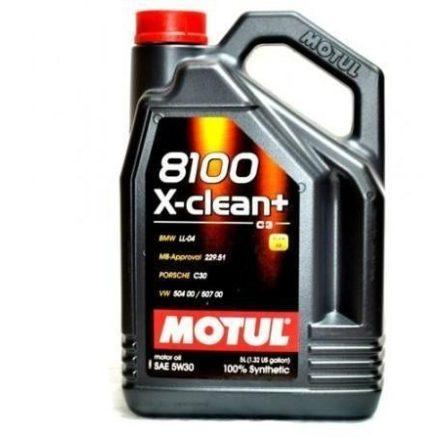 Motul 8100 X-clean+ 5W30 5 liter