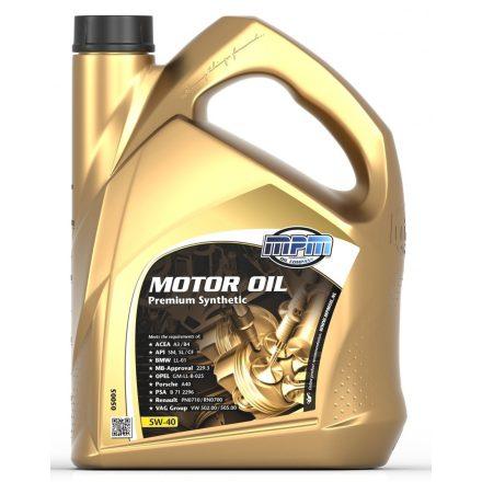 MPM 5W40 Premium Synthetic 5 liter