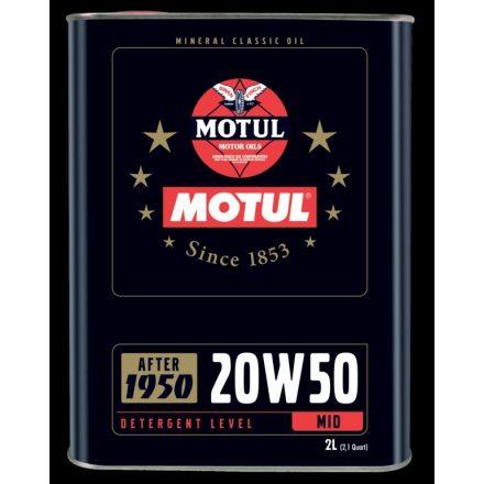 Motul Classic Oil 20W50 2 liter