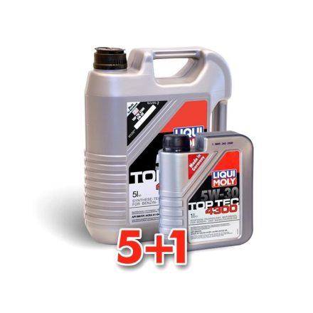 Liqui Moly Top Tec 4300 5W30 LM2324+2323 5+1 liter