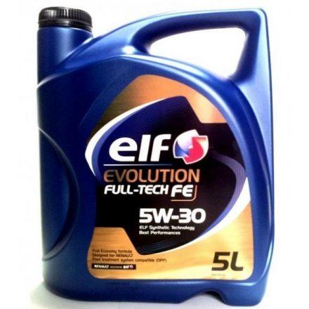 New Elf Evolution Fulltech FE 5W30 5 liter