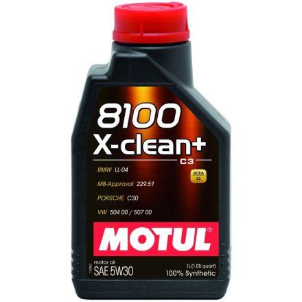 Motul 8100 X-clean+ 5W30 1 liter