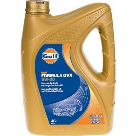 Gulf Formula GVX 5W30 4 liter