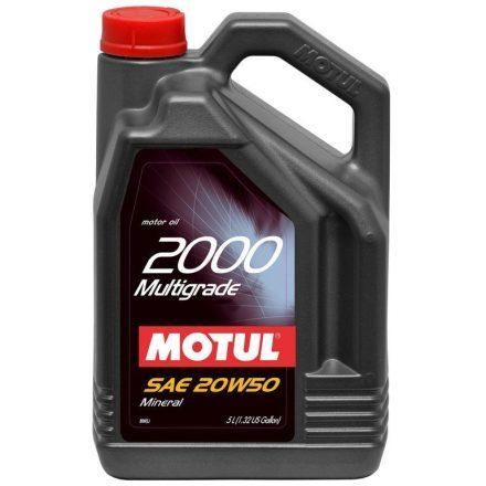 Motul 2000 Multigrade 20W50 5 liter