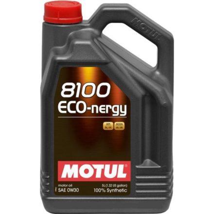 Motul 8100 Eco-nergy 0W30 5 liter