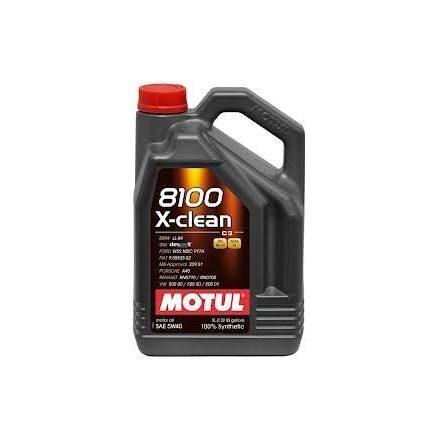 Motul 8100 X-clean 5W40 4 liter