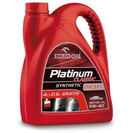 Orlen Plat. Class. Synthetic Diesel 5W40 4,5 liter
