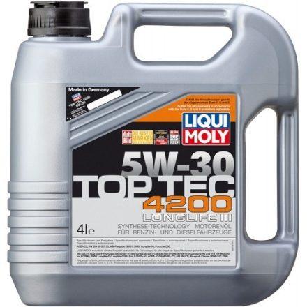 Liqui Moly Top Tec 4200 5W30 LM3715+8972 4+1 liter
