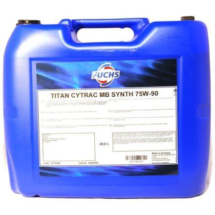 Fuchs Titan Cytrac MB Synth 75W90 20 liter