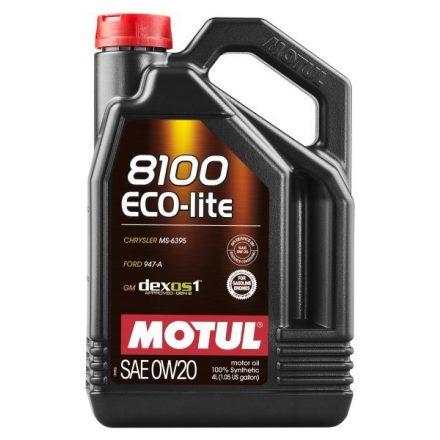 Motul 8100 Eco-lite 0W20 4 liter