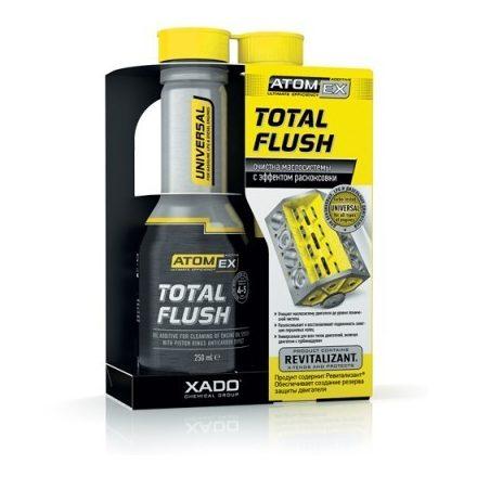 Xado 40613 Atomex Total Flush, olajrendszer tisztító 250 ml