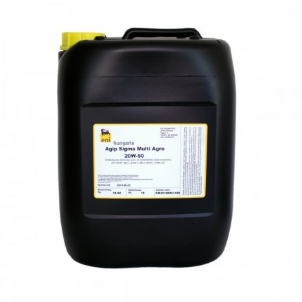 Eni Sigma Multi Agro 20W50 20 liter