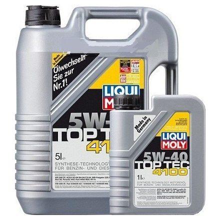 Liqui Moly Top Tec 4100 5W40 LM9511+9510 5+1 liter