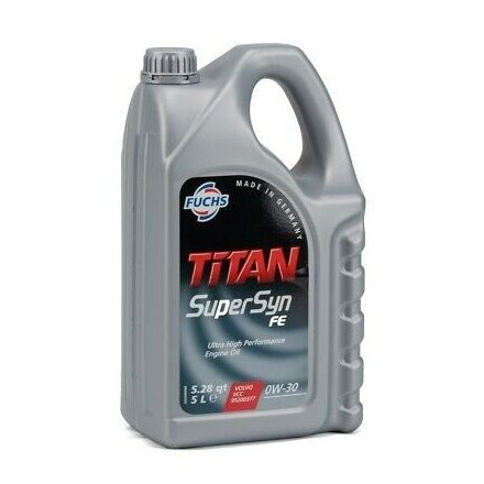 Fuchs Titan Supersyn FE 0W30 5 liter