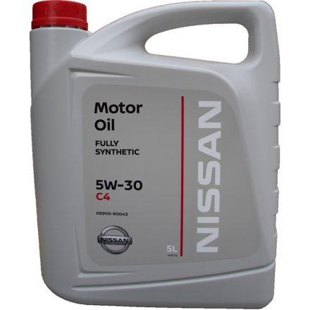 Nissan motoroil 5W30 C4 KE900-90043 5 liter