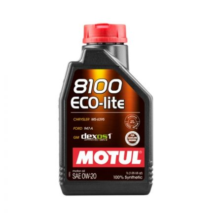 Motul 8100 Eco-lite 0W20 1 liter