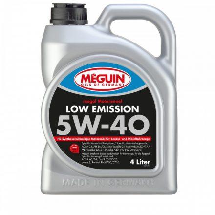 Meguin Low Emission 5W40 4 liter