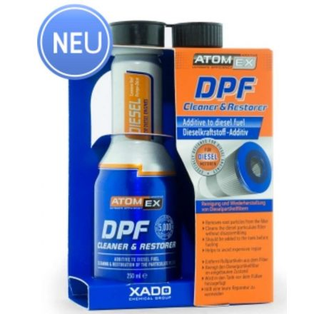 Xado 30027 Atomex DPF szűrő tisztító tisztító 250 ml