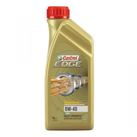 * Castrol EDGE 0W40 1 liter