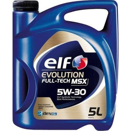 Elf Evolution Fulltech MSX 5W30 5 liter