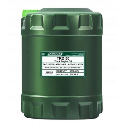 * Fanfaro TRD 50 SHPD 20W50 6102 10 liter