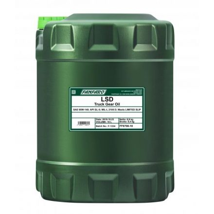 * Fanfaro Hypoid LSD 85W140 GL-5 8708 10 liter