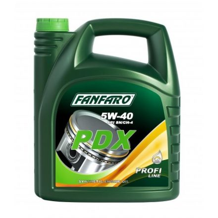 * Fanfaro PDX 5W40 6705 5 liter