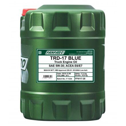 * Fanfaro TRD 17 5W30 UHPD Blue 6117 20 liter