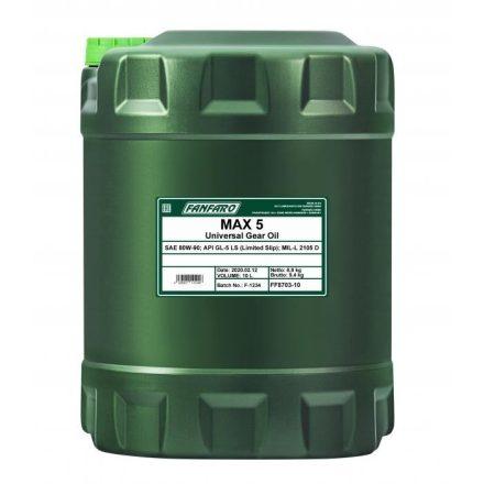 * Fanfaro Max 5 80W90 GL-5 LS 8703 10 liter