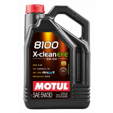Motul 8100 X-clean EFE 5W30 4 liter