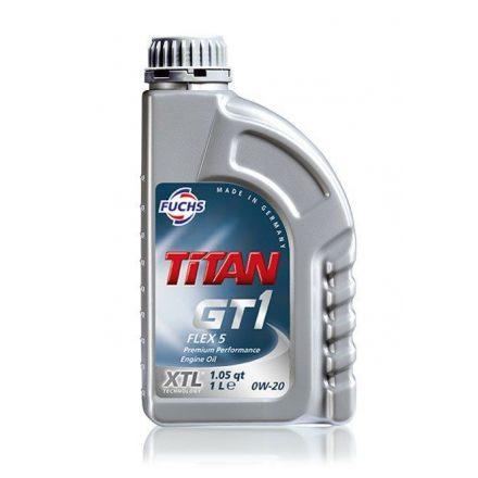 Fuchs Titan GT1 Flex 5 C5 0W20 1 liter