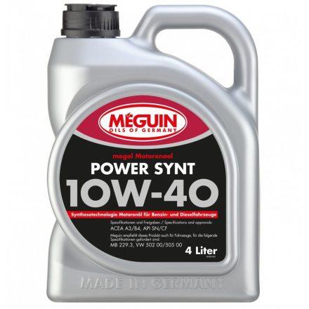 Meguin Power Synt 10W40 4 liter
