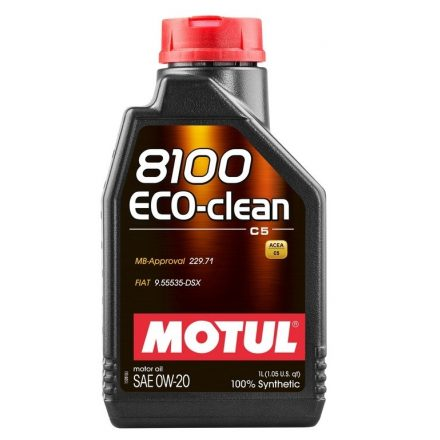 Motul 8100 Eco-Clean 0W20 1 liter
