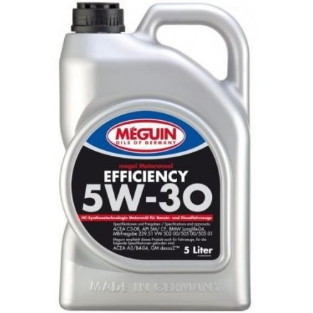 Meguin Efficiency 5W30 5 liter