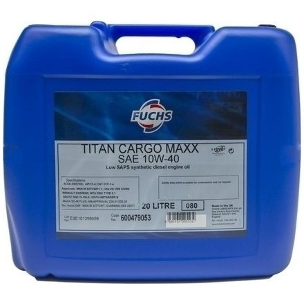 Fuchs Titan Cargo Maxx 10W40 20 liter