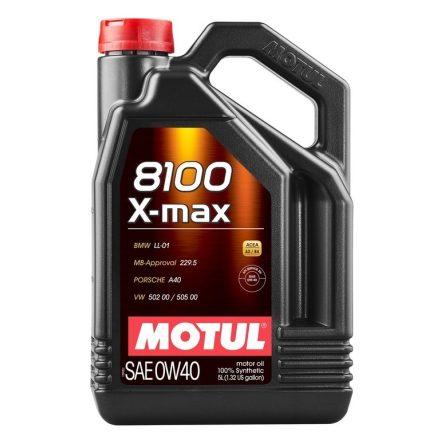 Motul 8100 X-max 0W40 5 liter