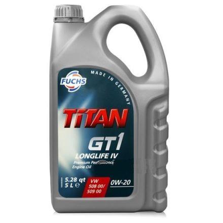 Fuchs Titan GT1 Longlife IV 0W20 5 liter