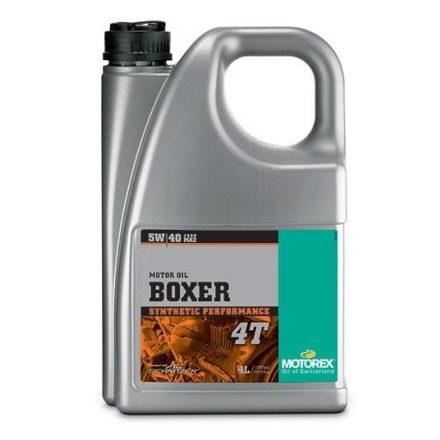 MOTOREX  Boxer 4T 5W40  4 liter